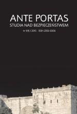 """""""Ante Portas – Studia nad Bezpieczeństwem"""""""